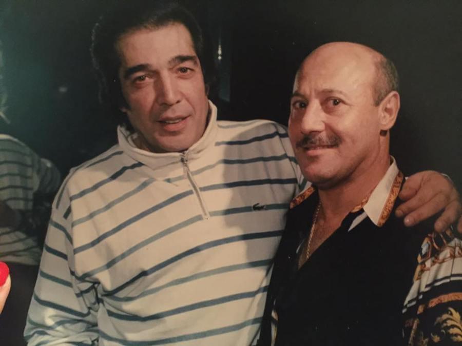 Cacho y Martins, viejo amigos.