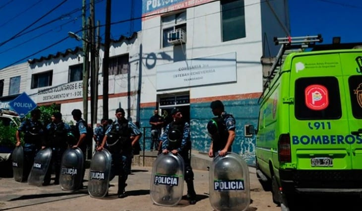 En Esteban Echeverría jrieron diez detenidos.