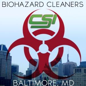 Biohazard Cleanup Baltimore MD