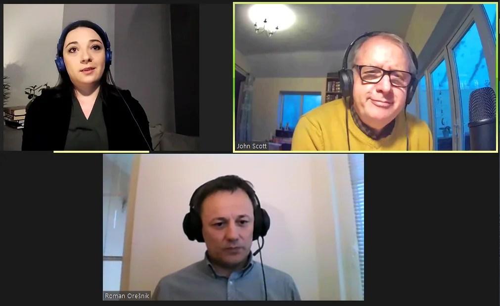 IN-CJ Podcast 011 – Katja Voh and Roman Oresnick