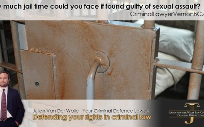 How much jail time could you face if found guilty of sexual assault?