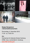 Design-Symposium »Sicherheit/Unsicherheit«