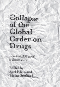 Buchcover: Collapse of the global order on drugs