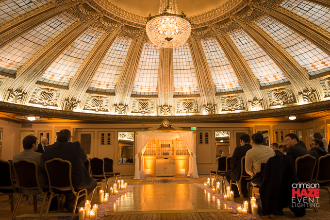 Wedding at Arctic Club Dome Room, April 2016