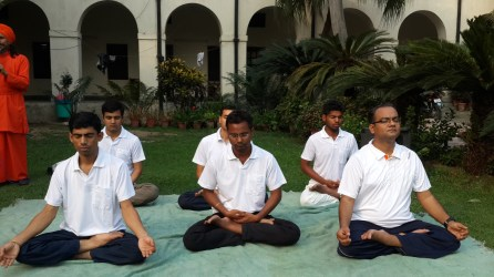 Yoga is not only beneficial for the body but also for the allround development of all human beings.