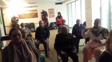 Meditation at the Senior Citizen Center