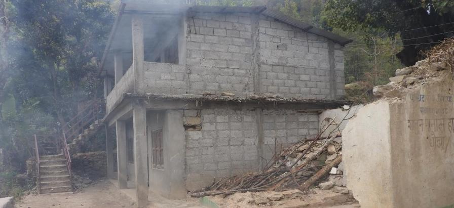 School before renovation