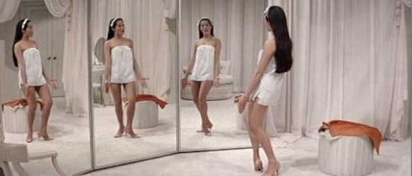 Nancy Kwan Mirror