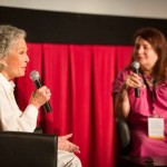 Marge Champion interviewed by Allison Anders. Photo Courtesy TCM.
