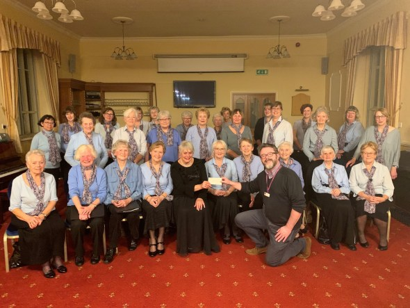 Cringleford Singers and East Anglian Childrens Hospice