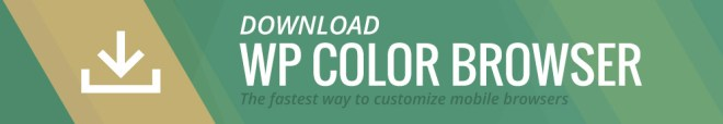 Download WP Color Browser On WordPress.org