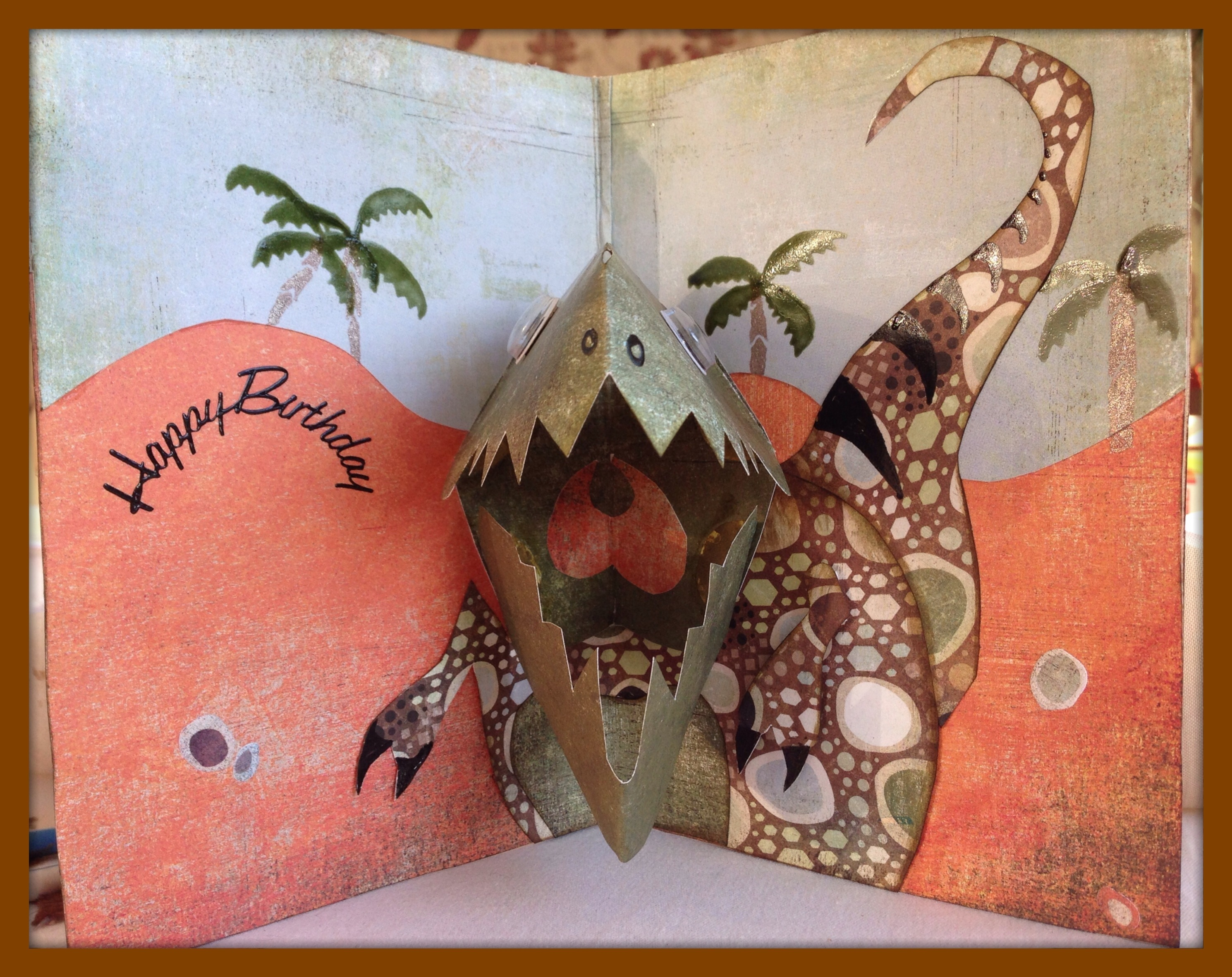 Art And Papercraft Criptic Thoughts
