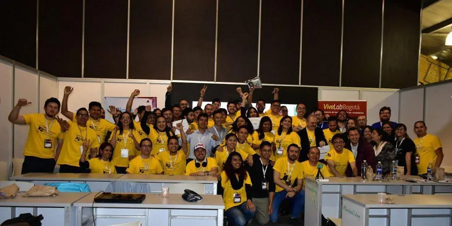 Estes foram os ganhadores do primeiro hackathon blockchain de Colômbia