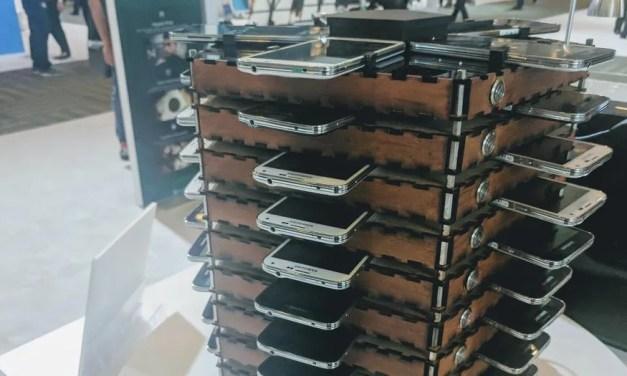 Samsung constrói uma plataforma de mineração Bitcoin usando 40 Galaxy S5