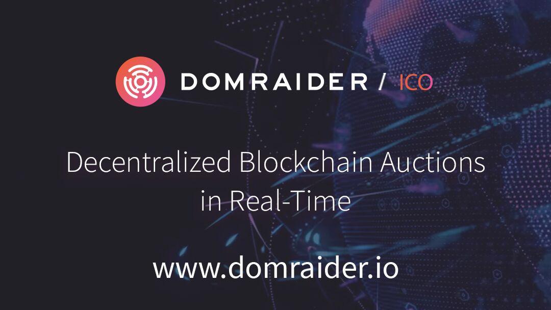DomRaider lanza su ICO apuntando a las subastas descentralizadas
