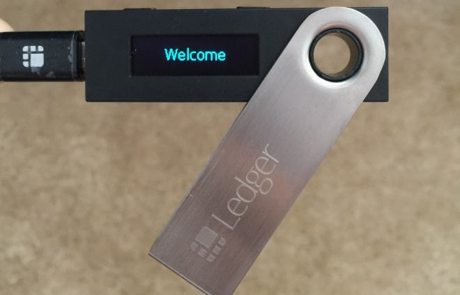 Dispositiivo-Ledger Nano