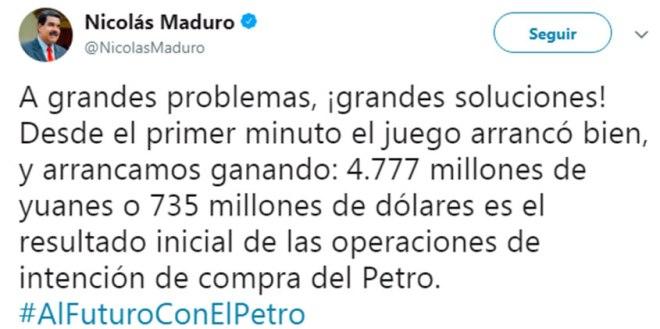 Tweet-Maduro-Petro