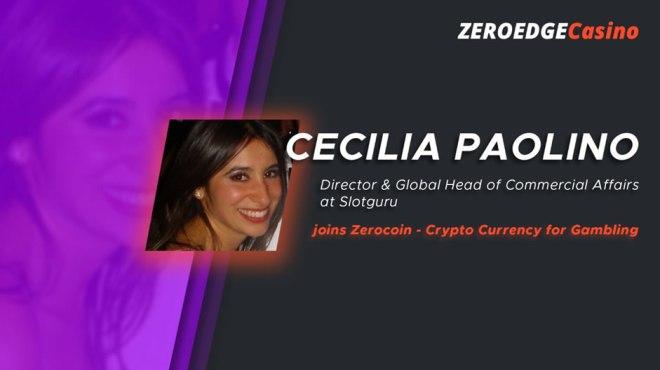 Cecilia Paolino ZeroEdge Casino