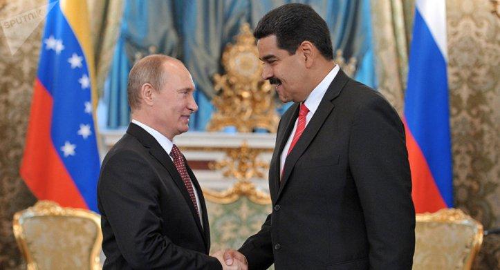 Putin ayuda a Maduro