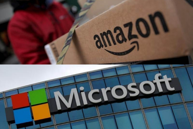 Amazon Microsoft Proyectos Descentralizados