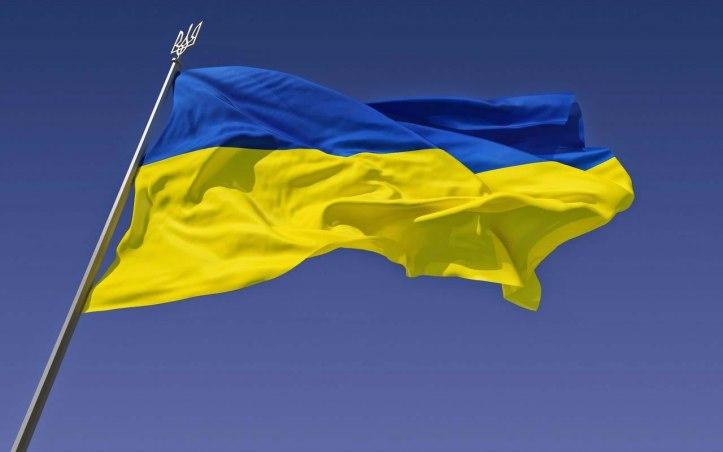 Bandera Ucrania - Criptomonedas