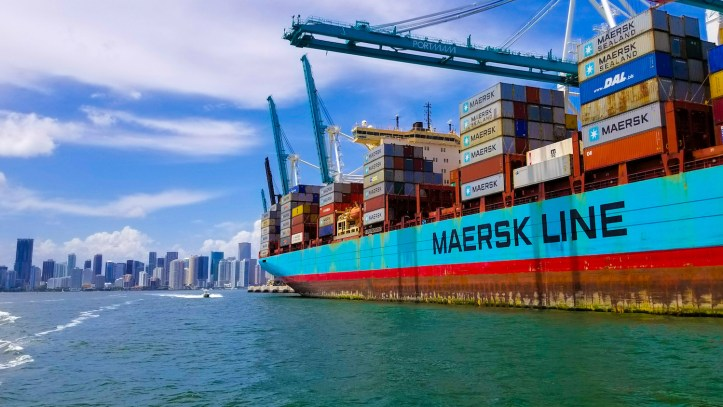 Blockchain en el sector maritimo