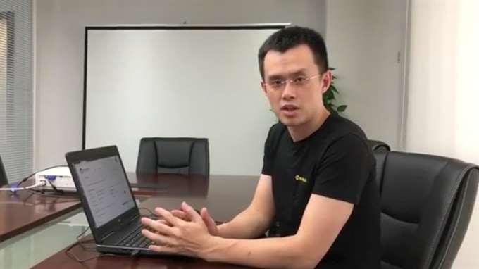 Changpeng Zhao - CEO Binance