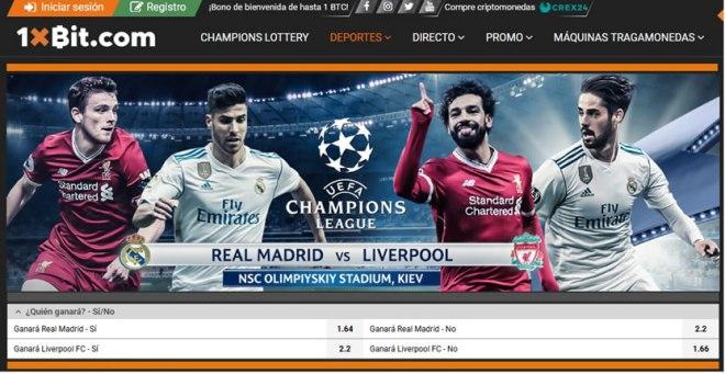 Final Champions League 2018 - 1xBit