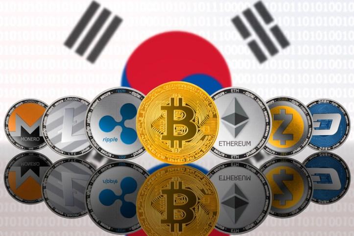 Corea del Sur Blockchain