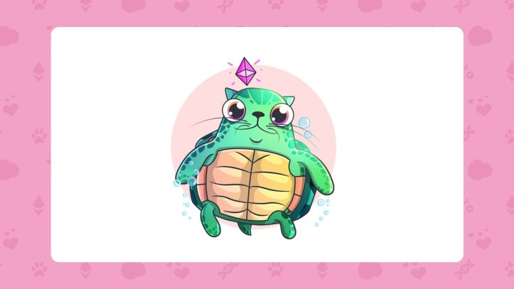 CryptoKitties Tortugas Marinas