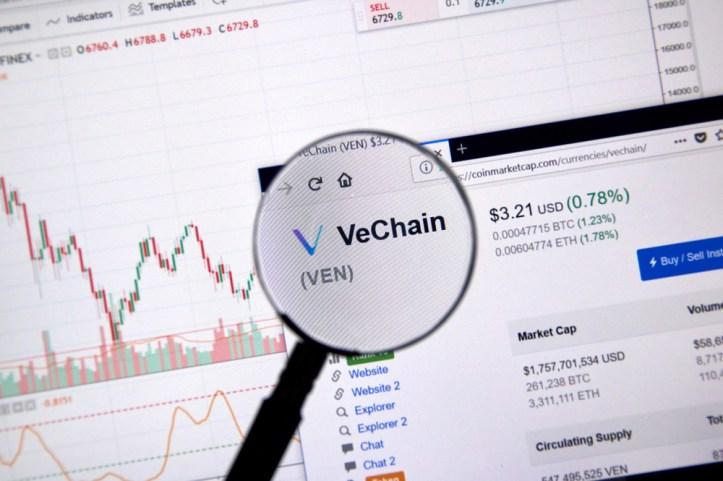 El Token del día VeChain