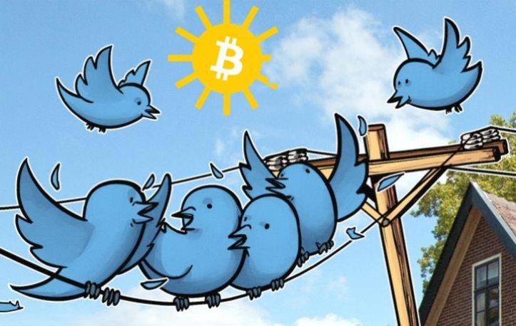 Twitter Influye en el precio del Bitcoin