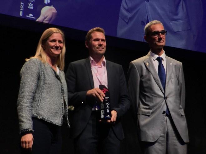 Entrega de premios IOTSWC - IoTerop