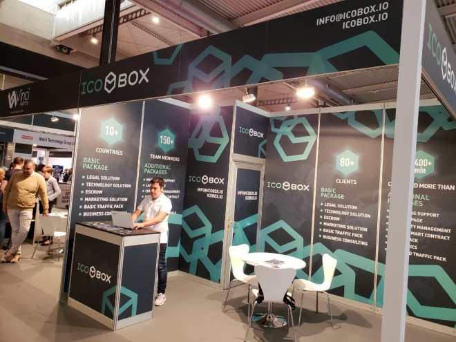 ICOBox presente en IOTSWC