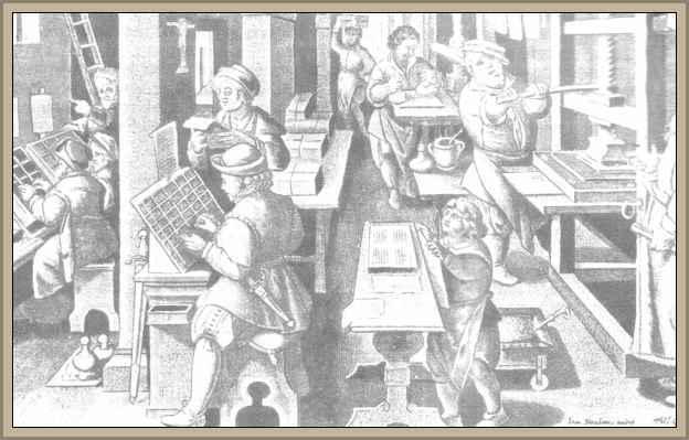 El origen de la imprenta