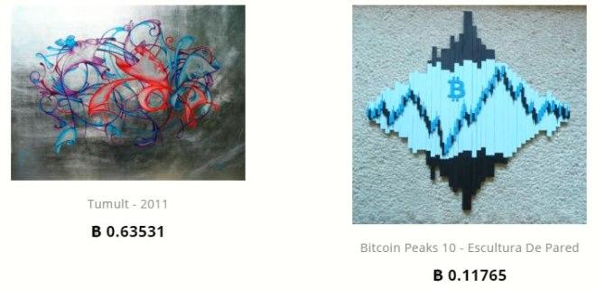 Comprar arte con Bitcoins