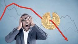Bitcoin pierde más de $1500 en minutos, mientras el mercado crypto se desangra