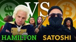 Alexander Hamilton vs Satoshi Nakamoto, el duelo rap del siglo