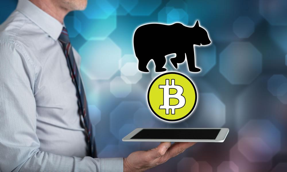Caída de bitcoin