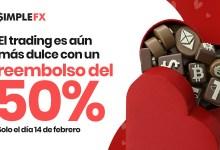 SimpleFX nos ofrece una gran oferta este Día de San Valentín