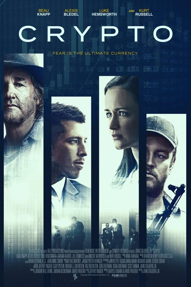 Crypto: película sobre utilizar criptos, como Bitcoin, para la mafia.