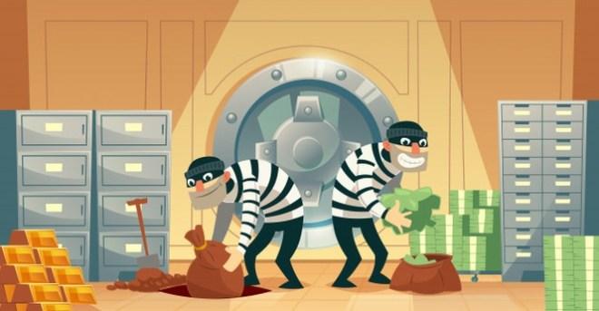 Historia de un insólito robo a un banco