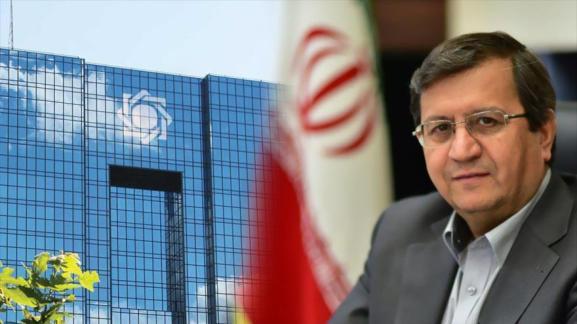 El Gobernador del Banco Central de Irán, Abdolnaser Hemmati.