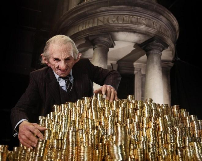 Banco Gringotts en la saga de Harry Potter