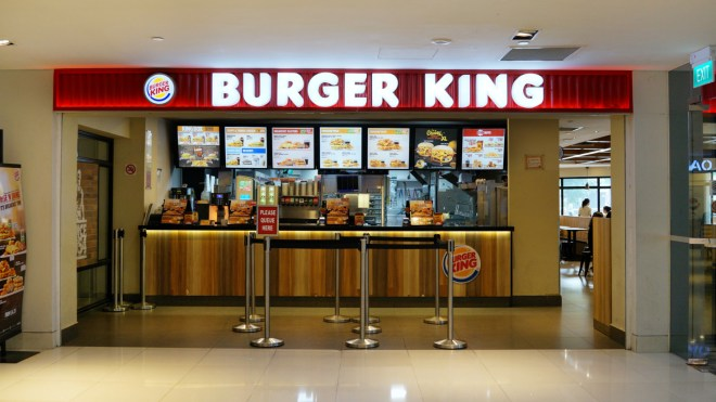 Buy with cryptocurrencies at Burger King