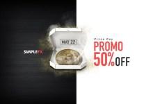 SimpleFX celebra el Bitcoin Pizza Day con reembolsos en efectivo del 50%
