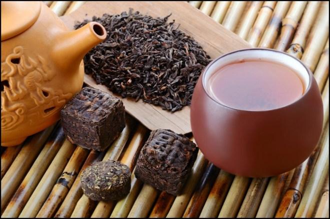 El té de Pu'er es uno de los más importantes de China.