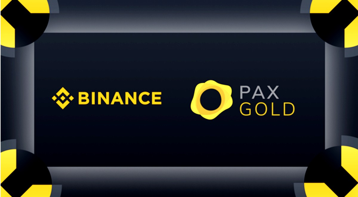 Pax Gold se encuentra disponible en Binance - CRIPTO TENDENCIA