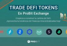 ProBit Exchange se convierte en el principal destino de los tokens DeFi