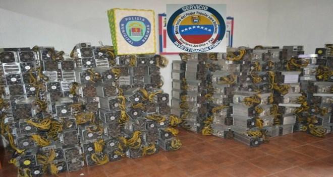 Por segunda semana seguida ocurren incidentes en Venezuela relacionados con la criminalización de la minería de Bitcoin. Fuente: Lanoticiadebarinas